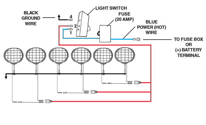 off road led light bar wiring harness kit off road lighting question | ih8mud forum off road led light wiring diagram