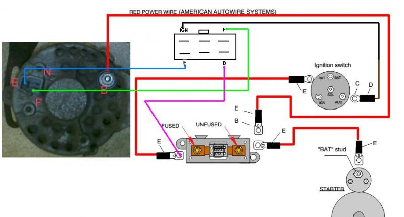 alternator wiring diagrams alternator image wiring alternator circuit diagram pdf alternator auto wiring diagram on alternator wiring diagrams