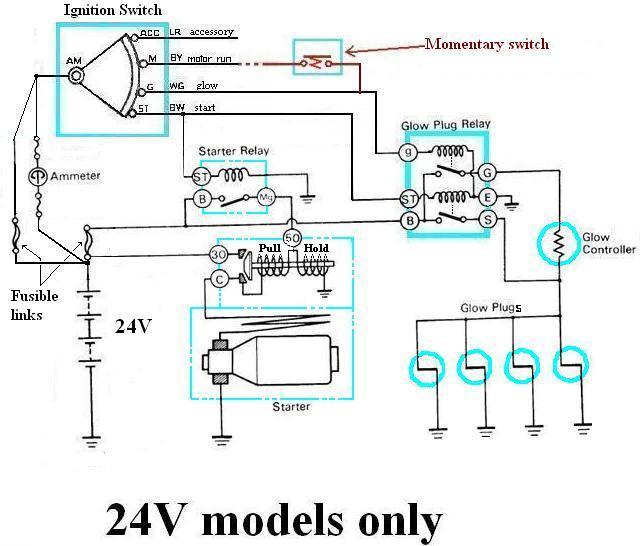 Won't Start Or Glow Plug Need Electrical Help Please Ih8mud Forum