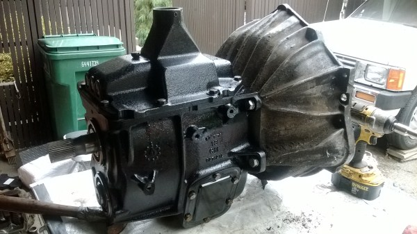 Rookie rebuilds a SM465 transmission and timely mistakes | IH8MUD Forum