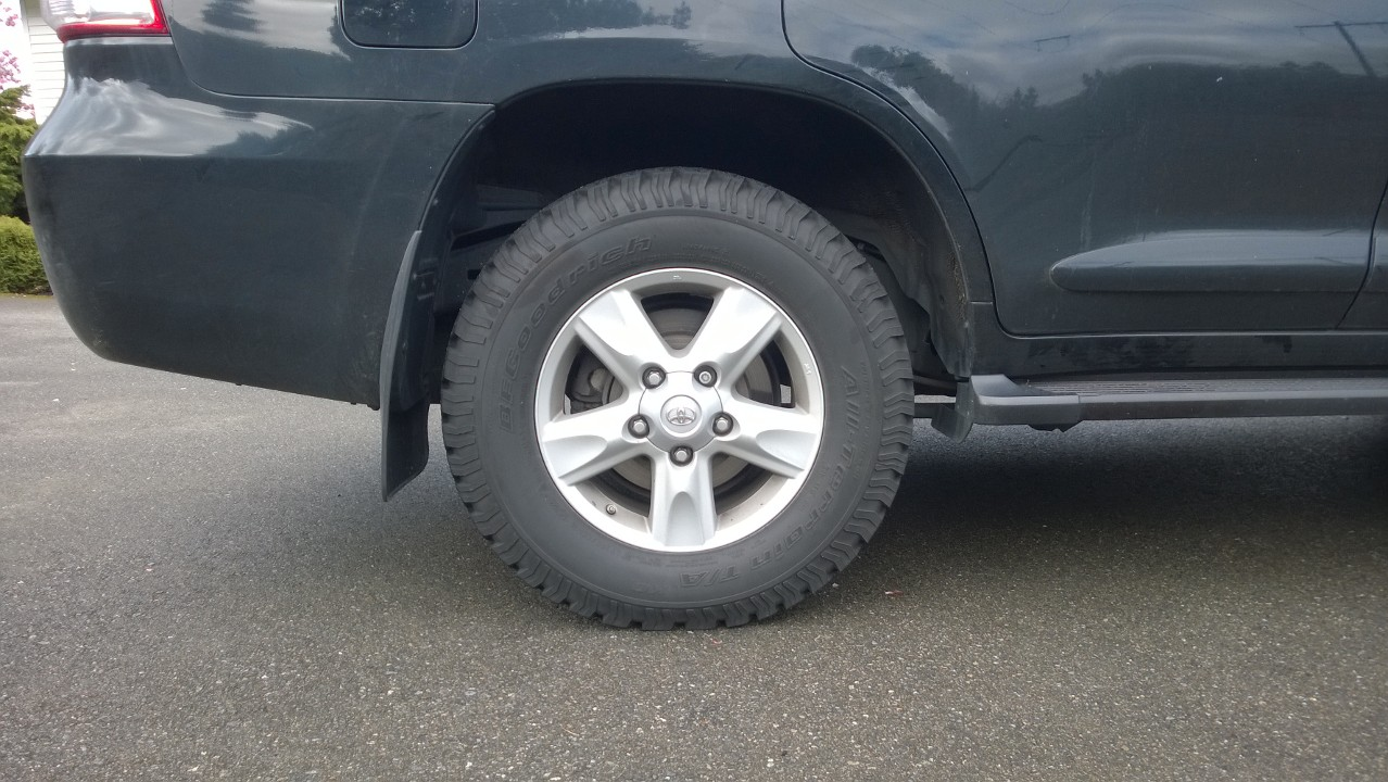 Bf Goodrich All Terrain >> Anyone have have review of BFG radial all terrain KO tires ...