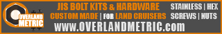 Overland Metric - JIS Hardware