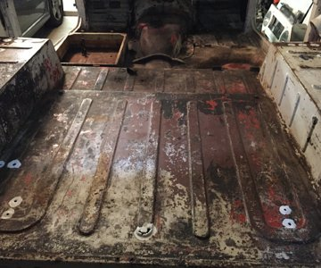 Teardown - Tub Floor