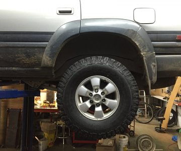 Tire Fitment Rear