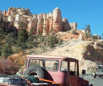 Bryce Canyon thru the back way 2013