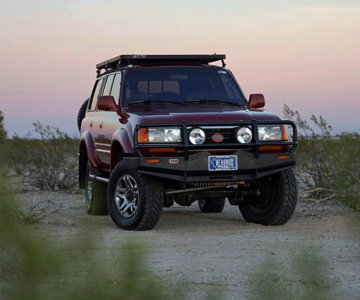 Overland The World's 4BTZJ80 - diesel conversion, Expo Build