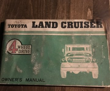 1965 owners manual