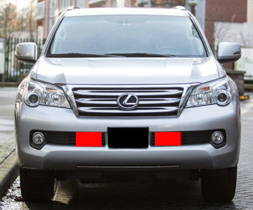 GX front light position