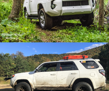 4Runner as purchased and at VOR 2018