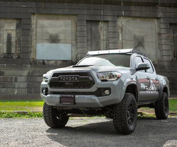 "3rd Gen Tacoma with 2"" Foam Cell Pro Ironman 4x4 Lift Kit"