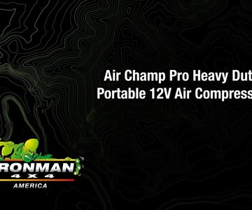 All About Our Air Champ Pro Heavy Duty 12V Portable Air Compressor