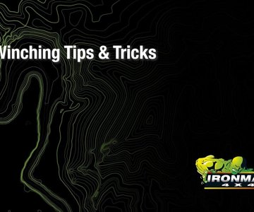 Winching Tips & Tricks 01 - Winching A Tree Off The Trail
