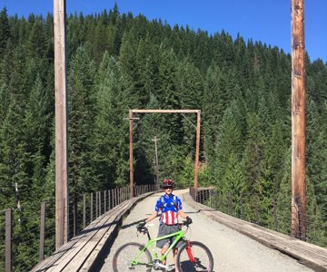 Hiawatha Trail Trestle