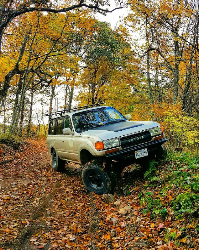 1993 Land Cruiser 80 Second Mtn