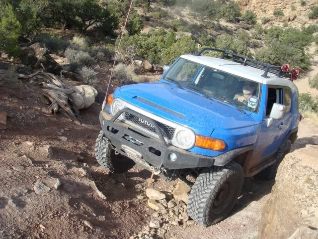 Helldorado Trail, Area BFE, Moab, 2008