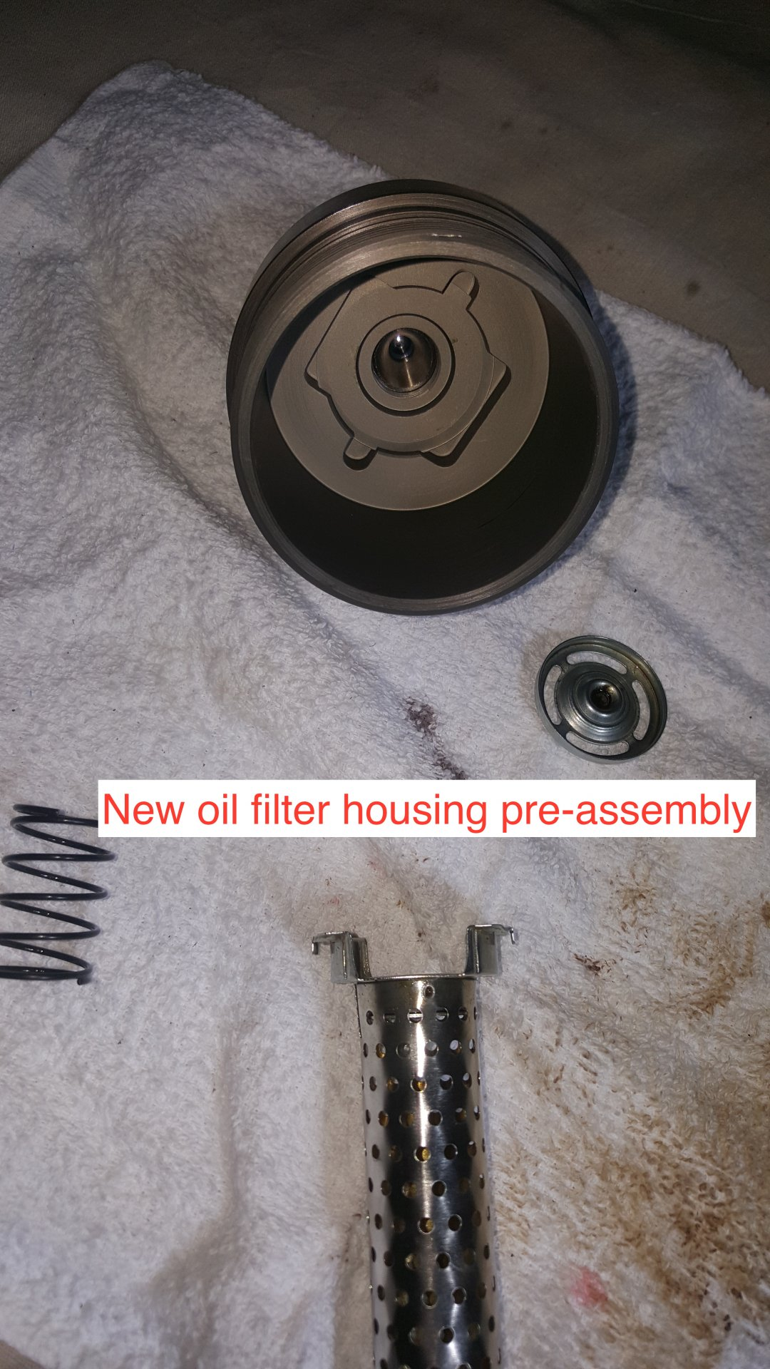 Toyota Diesel Tundra >> oil filter cap pre-assembly | IH8MUD Forum