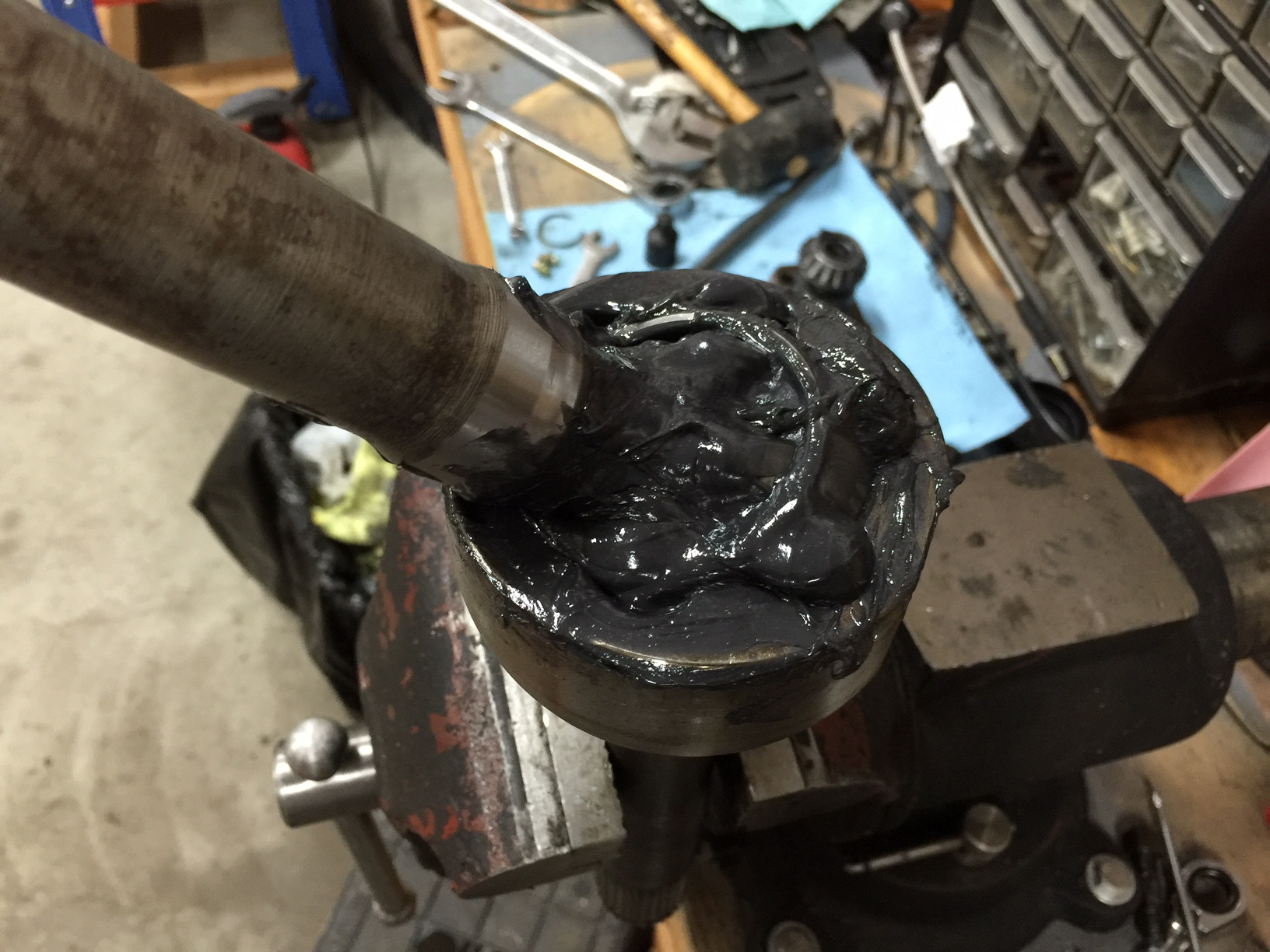 steering knuckle reassembly